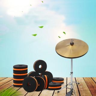 YOUN*10pcs New Cymbal Drum Accessory Set Cymbal Felt Washers Drum
