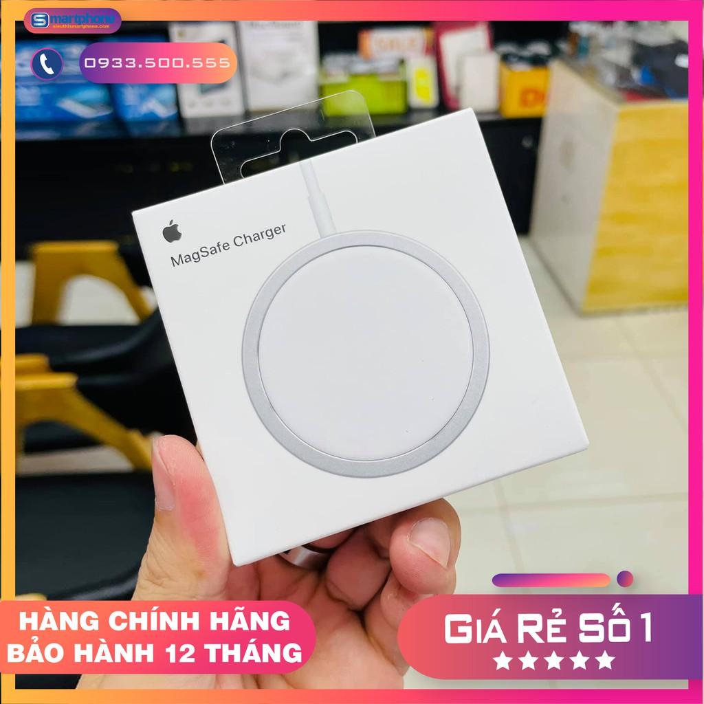 Bộ sạc không dây Magsafe 15W cho iPhone iPhone 8/X, Xs, Xsmax, 11 và 12 Pro  - Chính hãng Apple - Bộ sạc