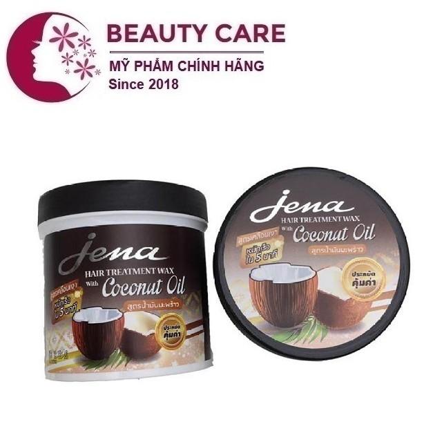 Kem ủ tóc Jena Hair Treament Coconut 500ml chiết xuất Dừa phục hồi tóc, cho tóc siêu mềm mượt