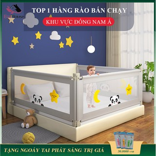 Thanh chắn giường an toàn cho bé, thanh chắn giường cao cấp, bảo vệ bé, mẹ yên tâm, bảo hành 2 năm thumbnail
