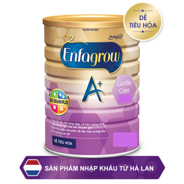 Sữa bột ENFAMIL A+ GENTLE CARE 1 900g