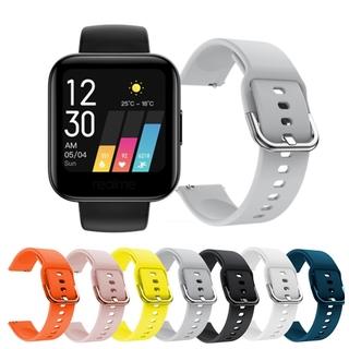 Dây đeo thay thế đồng hồ đeo tay Realme bằng silicon mềm mại thumbnail