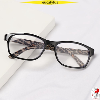 🌸EUTUS🌸 +1.00~+4.00 Presbyopic Glasses Vision Care Eyeglasses Reading Glasses Portable Ultralight High-definition Unisex PC Frames