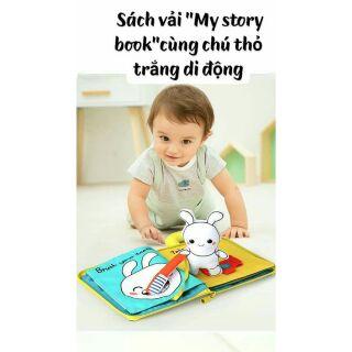 Sách vải My story book