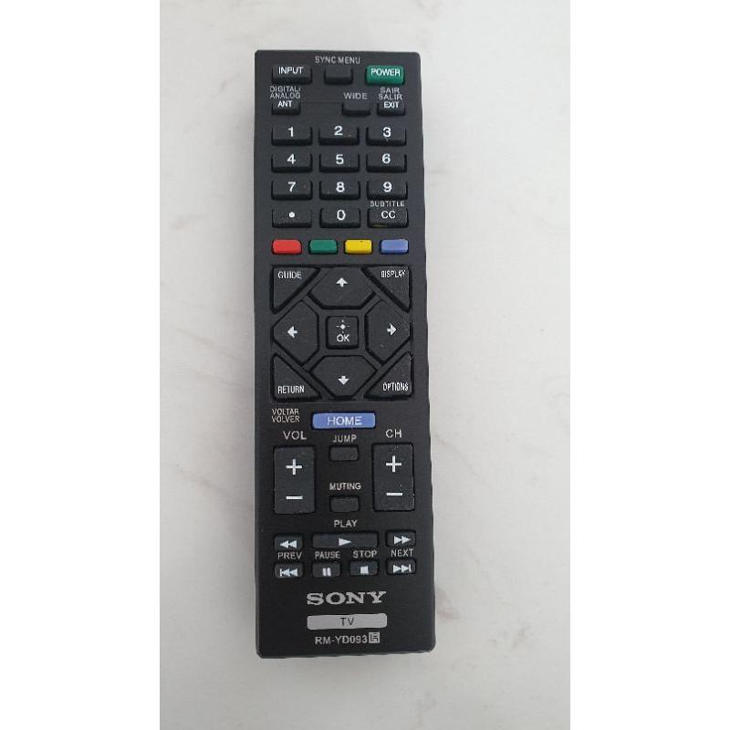 REMOTE ĐIỀU KHIỂN TIVI SONY LCD SMART 093(054) HÀNG XỊN