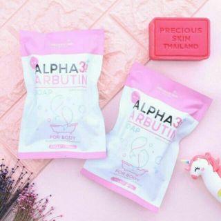(Soap 100g) Tắm Dưỡng Trắng Da Alpha Arbutin 3 Plus Collagen Bath Cream thumbnail