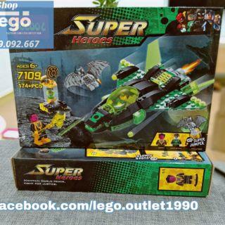 Xếp hình Decool Super Heroes 7190