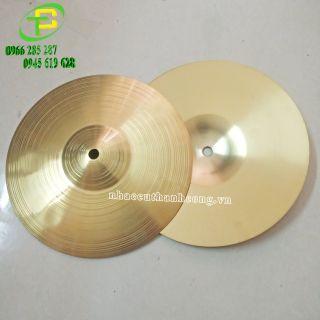 Cymbal cajon 10/12/14 inch giá rẻ ( 1 lá)