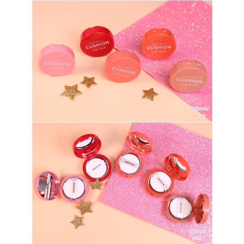 Má hồng dạng kem ARITAUM SUGARBALL CUSHION CHEEK COLOR - 2559399 , 427891788 , 322_427891788 , 180000 , Ma-hong-dang-kem-ARITAUM-SUGARBALL-CUSHION-CHEEK-COLOR-322_427891788 , shopee.vn , Má hồng dạng kem ARITAUM SUGARBALL CUSHION CHEEK COLOR