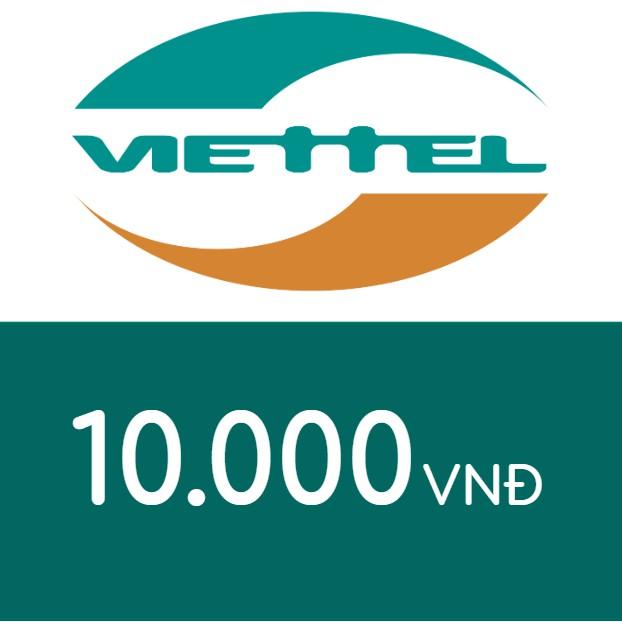Nạp điện thoại Viettel 10K