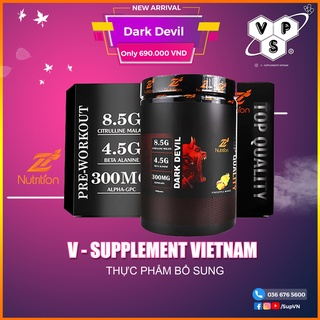 Pre dark devil - pre workout dark devil tăng sức mạnh trong tập luyện 30 lần dùng thumbnail
