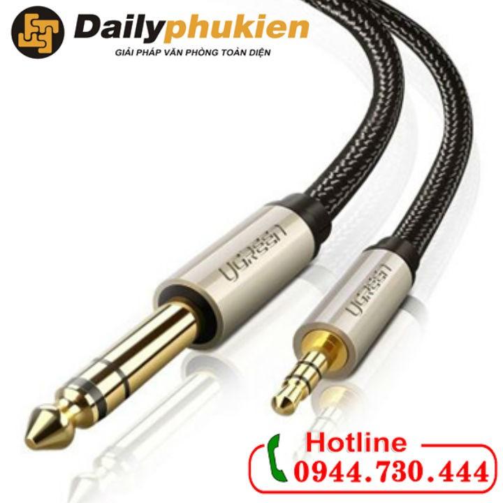 Cáp chuyển đổi âm thanh 3.5mm sang 6.5mm Ugreen 40808 - 2934601 , 1107084050 , 322_1107084050 , 650000 , Cap-chuyen-doi-am-thanh-3.5mm-sang-6.5mm-Ugreen-40808-322_1107084050 , shopee.vn , Cáp chuyển đổi âm thanh 3.5mm sang 6.5mm Ugreen 40808