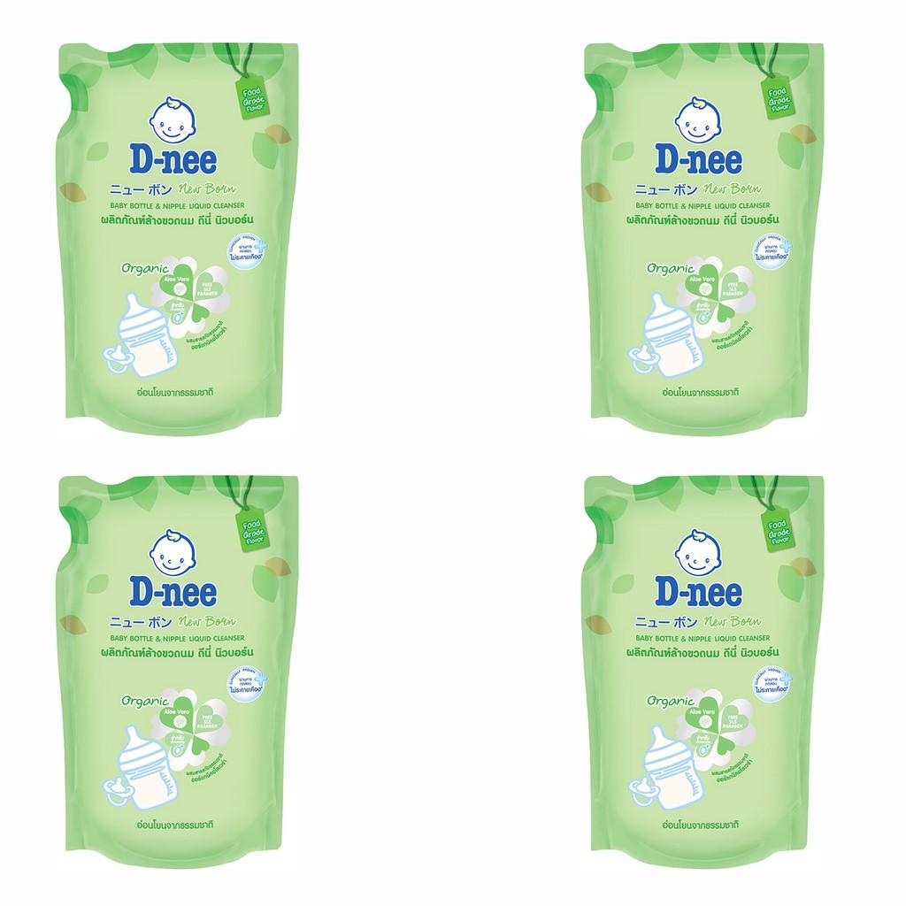 Bộ 04 gói nước rửa bình sữa D-nee (600ml) - 10073177 , 581465094 , 322_581465094 , 140000 , Bo-04-goi-nuoc-rua-binh-sua-D-nee-600ml-322_581465094 , shopee.vn , Bộ 04 gói nước rửa bình sữa D-nee (600ml)