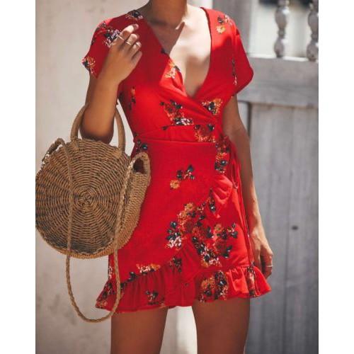 Thời trang nữ Váy in hoa ngắn tay Mini 2018 Mùa hè Sexy Deep V-cổ Casual Váy Lady Holiday Beach Dress vest - 21695102 , 2113978372 , 322_2113978372 , 156999 , Thoi-trang-nu-Vay-in-hoa-ngan-tay-Mini-2018-Mua-he-Sexy-Deep-V-co-Casual-Vay-Lady-Holiday-Beach-Dress-vest-322_2113978372 , shopee.vn , Thời trang nữ Váy in hoa ngắn tay Mini 2018 Mùa hè Sexy Deep V-c