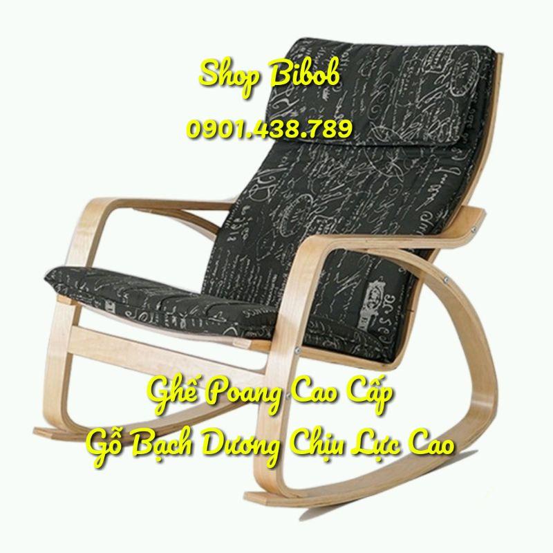 GHẾ THƯ GIẢN POANG IKEA CAO CẤP - GHẾ POANG - GHẾ NGỒI