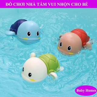 Đồ Chơi Thả Bồn Tắm Rùa Mini Bơi Vặn Bằng Dây Cót Cho Bé – Baby Homes