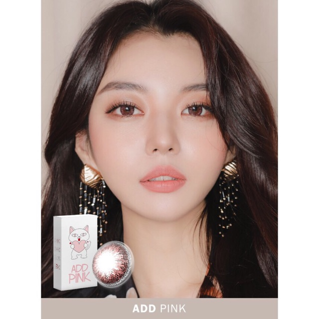Lens Hàn Add Pink Ann365 HSD 1 tháng (0-6 độ)