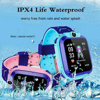 Q12 Đồng hồ thông minh Dành cho trẻ em Học sinh chống nước 1.44 inch