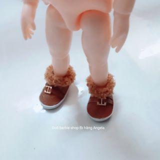 Giày da cho búp bê bdj 1/8 baboliy và búp bê blyther giá rẻ