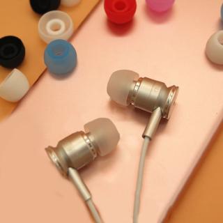 Nút Bọc Đầu Tai Nghe Nhét Tai Bằng Silicon Mềm 4.5mm Ốp