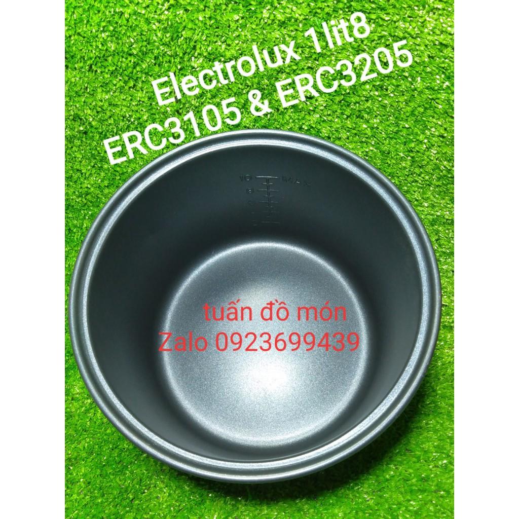 Lòng Nồi Cơm Điện Electrolux 1.8 lít ERC3105 ERC3205 phụ kiện phụ tùng linh kiện chính hãng