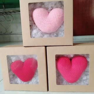hộp quà tình yêu. trái tim handmade