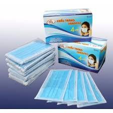 Bộ 5 hộp khẩu trang y tế kháng khuẩn 4 lớp lọc (Xanh)(AN BÀI) (Hộp 50 Cái) - 3121892 , 967522232 , 322_967522232 , 140000 , Bo-5-hop-khau-trang-y-te-khang-khuan-4-lop-loc-XanhAN-BAI-Hop-50-Cai-322_967522232 , shopee.vn , Bộ 5 hộp khẩu trang y tế kháng khuẩn 4 lớp lọc (Xanh)(AN BÀI) (Hộp 50 Cái)