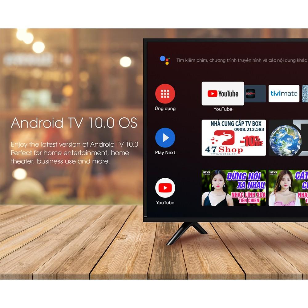 Android TV Box MECOOL KM6 Classic , Android 10, Chíp Amlogic S905X4, RAM 2G, bộ nhớ 16G