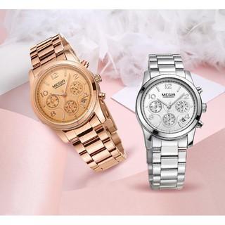 Đồng hồ đeo tay hiển thị 24 giờ chạm khắc dành cho nữ thumbnail