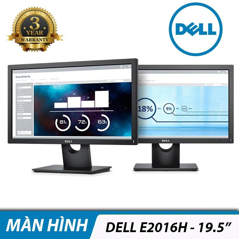 [Mã ELCLXU8 hoàn 5% xu đơn 500k]Màn hình máy tính LCD Dell E2016H 19.5 Inch 1600x900 - Hàng Chính Hãng
