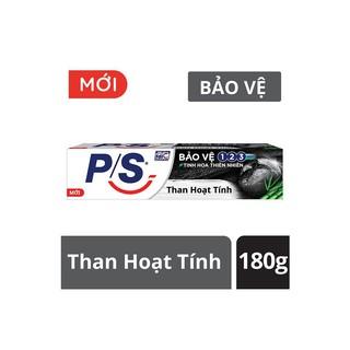 (180g/230g)Kem đánh răng P/S bảo vệ 123 Than hoạt tính date mới .