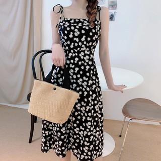 Hoàn Xu 100% 8.8 – [Mặc Là Phê] Váy Hoa Hai Dây Dáng Dài Kiểu Dáng Dễ Thương Xinh Xắn STOREVAV