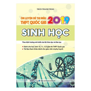 Sách - Ôn luyện đề thi mẫu THPT QG 2019 Sinh học