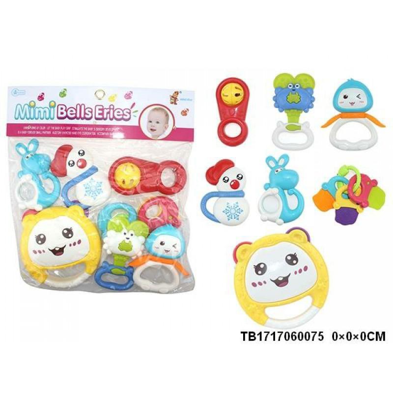 Túi đồ chơi xúc xắc 7 món Toys House chính hãng