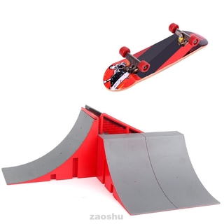 Educational Combination Extreme Sports Gift Play Indoor Game Mini Ramp Finger Skateboard Park Set