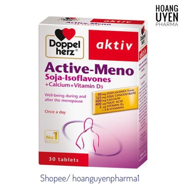 [Nhập Khẩu] Doppel Herz Active Meno - cân bằng nội tiết tố nữ - Hộp 30 viên