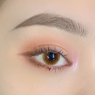 Kính áp tròng/Lens Honey Brown