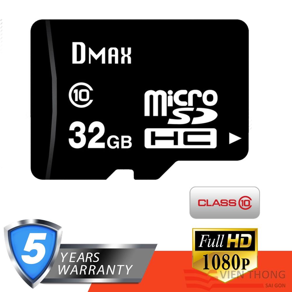 Thẻ nhớ 32GB Dmax micro SDHC Class 10 - Bảo hành 5 năm đổi mới - 2776963 , 1021452968 , 322_1021452968 , 199000 , The-nho-32GB-Dmax-micro-SDHC-Class-10-Bao-hanh-5-nam-doi-moi-322_1021452968 , shopee.vn , Thẻ nhớ 32GB Dmax micro SDHC Class 10 - Bảo hành 5 năm đổi mới
