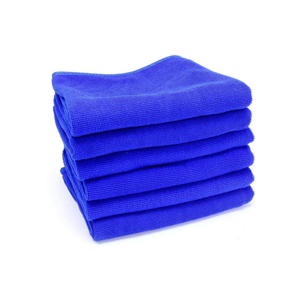 Combo 10 Khăn lau chuyên dụng siêu mềm thấm hút tốt, lau rửa xe ô tô, dùng trong spa..