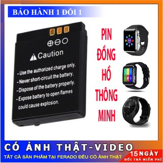 Pin đồng hồ thông minh DZ09 ,A1,A8L,GM08,Apwatch thumbnail