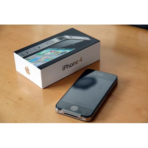 Điện thoại Iphone 4 - 8G/16G full box phiên bản quốc tế; Chính hãng; hỗ trợ giao máy theo yêu cầu.