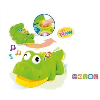 Cá sấu biết bò có nhạc Winfun 0696