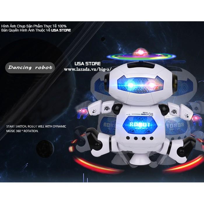 ROBOT XOAY 360 THÔNG MINH BIẾT NHẢY & HÁT
