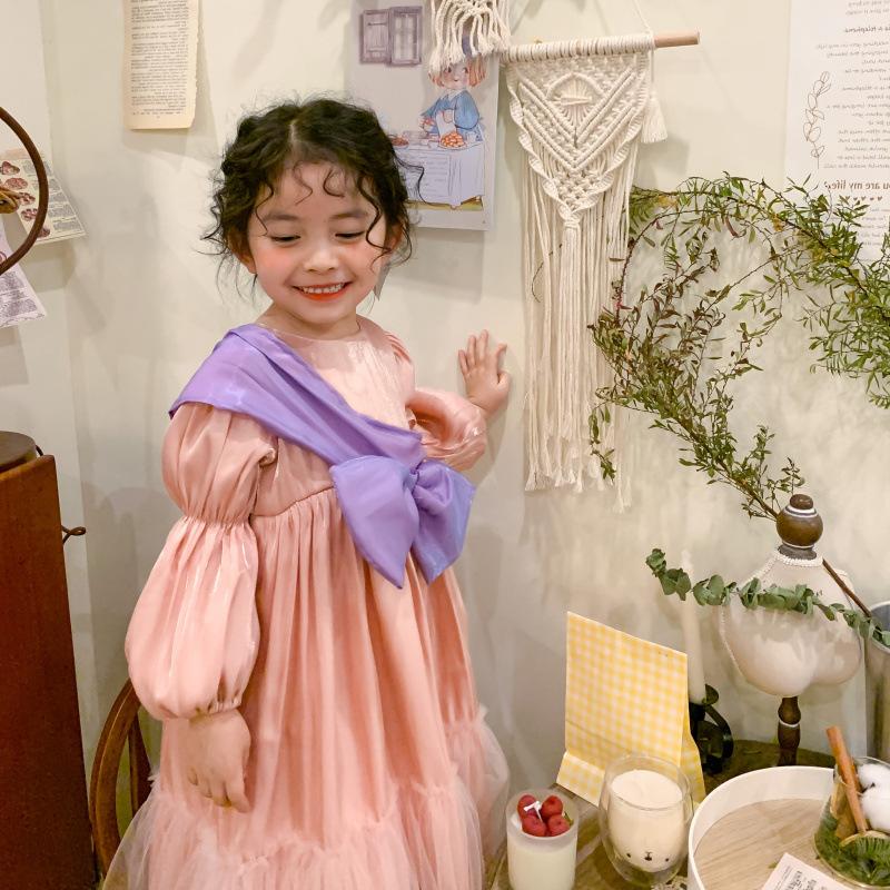Đầm Công Chúa Phong Cách Hàn Quốc Cho Bé Gái