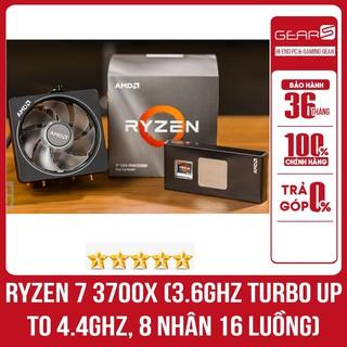 AMD Ryzen 7 3700X (3.6GHz turbo up to 4.4GHz, 8 nhân 16 luồng) - Full box nhập khẩu nguyên seal BH 36 tháng thumbnail