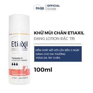 Lotion Ngăn mùi và mồ hôi chân Etiaxil dành cho da thường 100ML