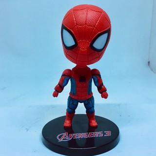 mô hình nhân vật spider men