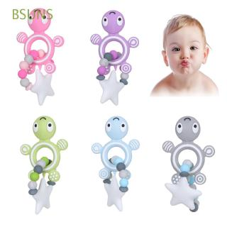 BSUNS DIY Craft Safe Teething Care Food Grade Big Star Turtle Teether