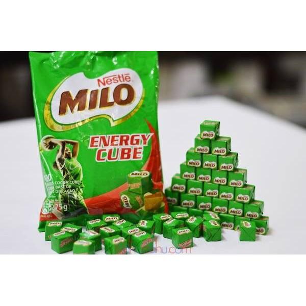 Bịch 100 viên kẹo Milo cube