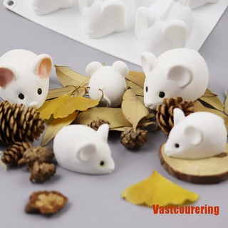 VAing 3D Mouse Shape Silicon Mold DIY Cake Jelly Baking Mousse Cake Mould Craft